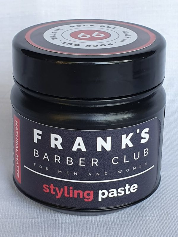 Styling Paste Frank's 66 Barber Club